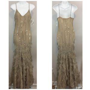 Xscape Formal Prom Evening Dress Size 6 NWT
